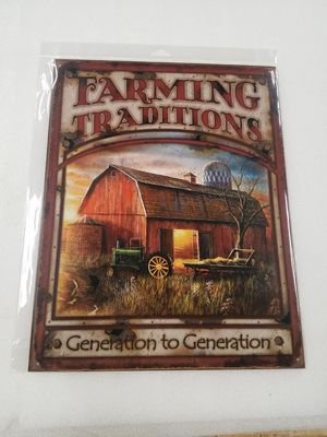 Farm generations farmers tradition barn metal sign for Sale in Vancouver, WA