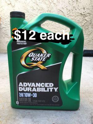 Quaker state 10-30 regular motor oil for Sale in Riverside, CA