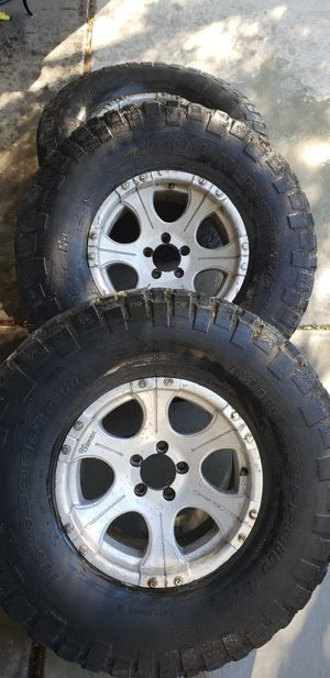 Dick cepek rims,BFGOODRICH tires. Jeep wheels for Sale in Las Vegas, NV
