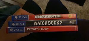 PS4 games for Sale in Rancho Cucamonga, CA