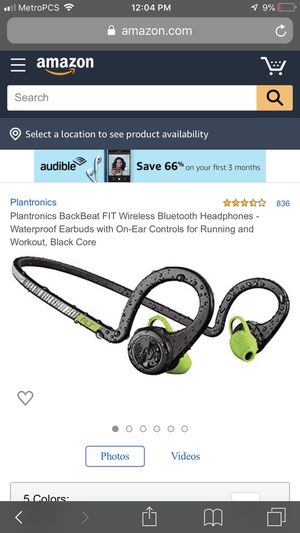 Workout Bluetooth headphones for Sale in Detroit, MI