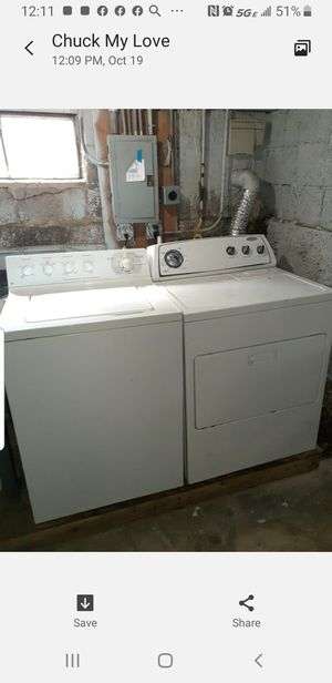 Waher/dryer set for Sale in Glenwood, IL