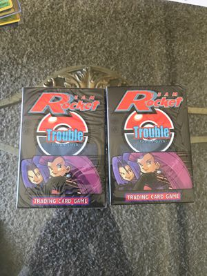 Pokémon Team Rocket trouble theme deck sealed for Sale in Arden-Arcade, CA