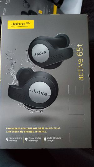 Jabra Elite Active 65t wireless headphones for Sale in Huntington Beach, CA