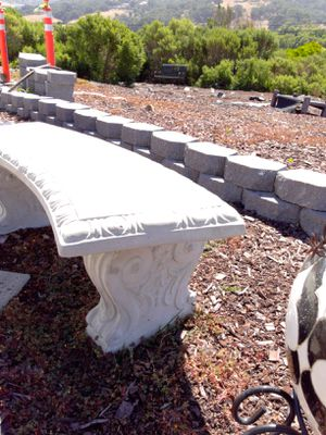 Concrete bench for Sale in San Luis Obispo, CA