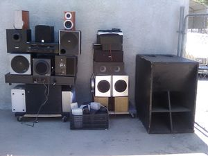 Audio equipment for sale. Better offer for Sale in Fontana, CA