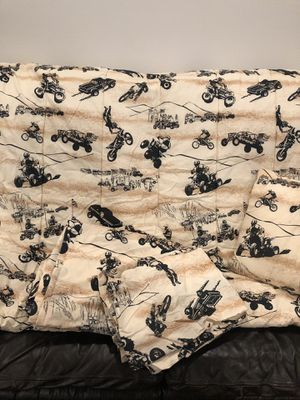Desert themed No Fear Twin bed set for Sale in Poway, CA