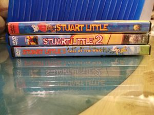 DVD , STUART LITTLE, STUART LITTLE 2 , STUART LITTLE 3 CALL OF THE WILD. IN GREAT CONDITION FROM A PET FREE , SMOKE FREE HOME $5 for Sale in Scottsdale, AZ