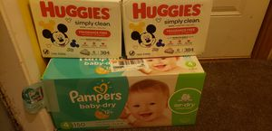 Pampers and wipes for Sale in Aurora, IL