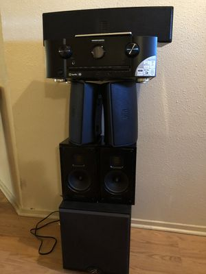Martin Logan, Marantz Home theater package. for Sale in Houston, TX