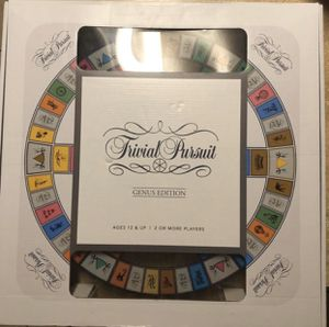 Trivial Pursuit Genus Edition Deluxe Tempered Glass New Board game for Sale in San Antonio, TX