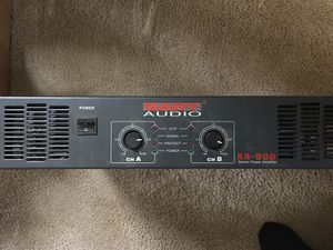 Nady XA-900 Pro Stereo Power Amp Band DJ Home Studio Pro Audio Sound for Sale in Marysville, WA
