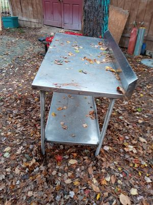 Stainless Steel Table for Sale in Oxford, NC