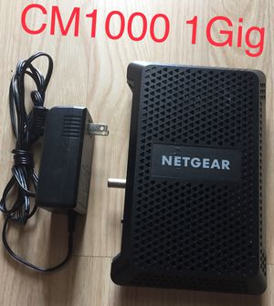 Netgear CM1000 NETGEAR CM1000 ULTRA HIGH SPEED CABLE MODEM DOCSIS 3.1 XFINITY COX for Sale in Pembroke Pines, FL