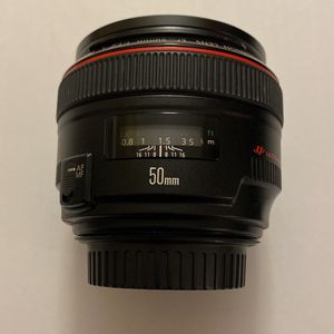 Canon Lens Ef 50mm F/1.2 L USM for Sale in Hialeah, FL