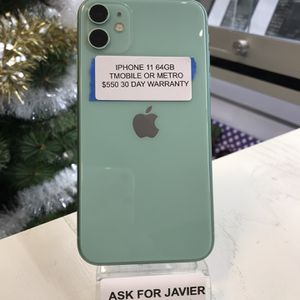 iPhone 11 64GB T-Mobile Or Metro PCS for Sale in Santa Ana, CA