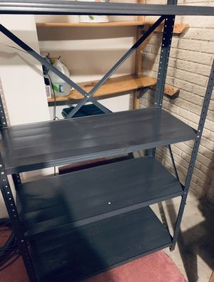 2 sets of metal shelves for Sale in Davenport, IA
