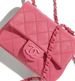 PINK CHANEL MINI CAVIAR CROSSBODY BAG for Sale in Brooklyn,  NY