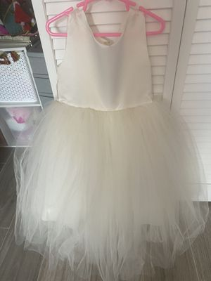 cream flower girl dress perfect condition for Sale in FL, US