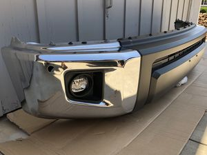 Toyota Tundra bumper 2014 - 2018 like new complete Oem original Toyota parts for Sale in San Marcos, CA