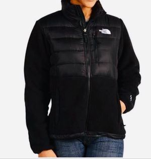 New! Women's NORTH FACE 500 Denali Down Fleece Full Zip Black Winter Jacket, Sz L for Sale in Chillum, MD