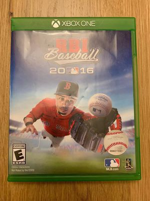 R.B.I. Baseball 16 for Xbox One for Sale in Apex, NC