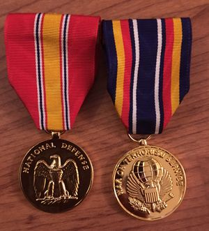 National Defense War on Terrorism Service Medal - Military for Sale in San Diego, CA