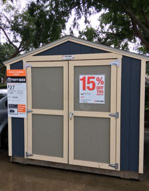 #566 Tuff Shed 8x8 KR600 Display Model for Sale in Bellaire, TX
