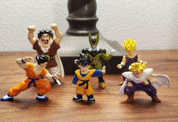 Vintage mini figurines - Dragonball Z - Bandai 1996 for Sale in Snoqualmie,  WA