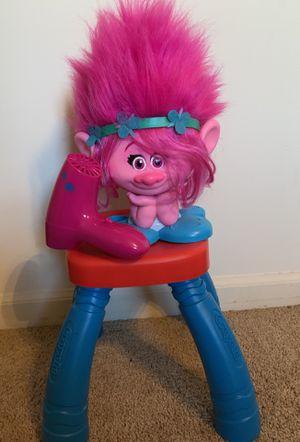 Trolls Poppy Styling Head with hair dryer for Sale in Nashville, TN