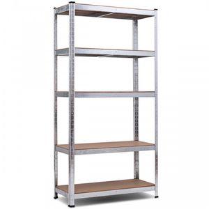 "E7-20/ 72"" Storage Shelf Steel Metal 5 Levels Adjustable Shelves for Sale in Walnut, CA"