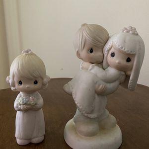 Precious Moments Bride, Groom & Bridesmaid for Sale in Palm Harbor, FL
