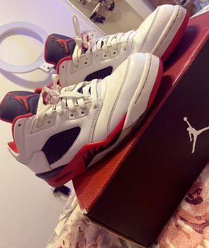 Jordan 5 fire reds for Sale in Syracuse, UT
