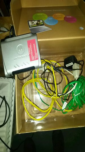 Dsl modem for Sale in Chicago, IL