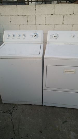 Kenmore Delete washer and dryer set very nice 350 for Sale in Los Angeles, CA