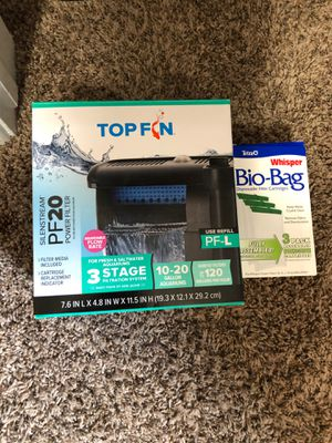 10-20 Fish Tank Filter for Sale in Bakersfield, CA