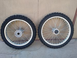 HONDA CRF WHEEL SET for Sale in Phoenix, AZ