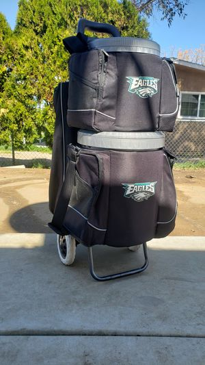 Eagles Coolers and Cart for Sale in Lake Elsinore, CA
