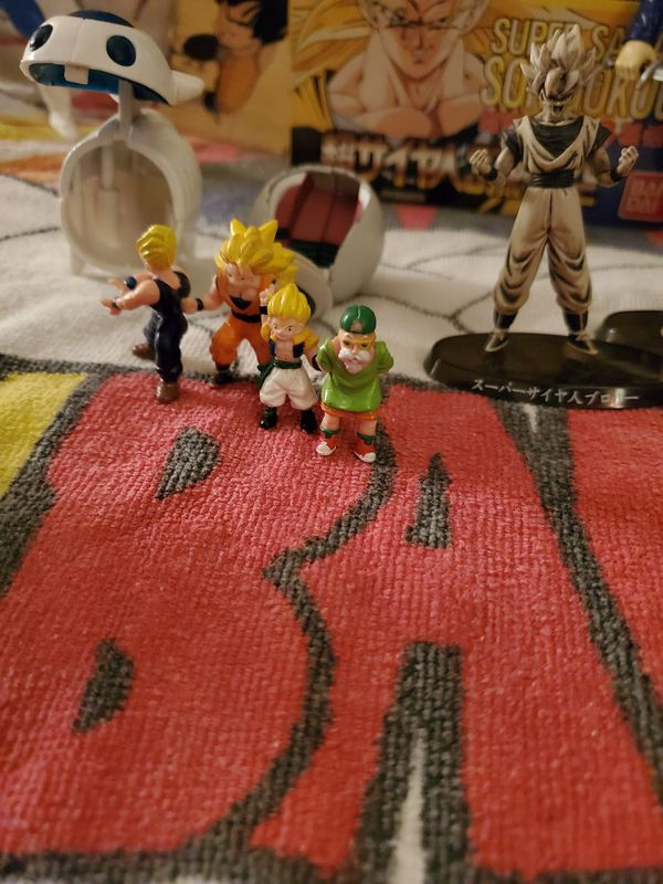 Dragonball Z ... Everything here is a promotion or a vintage item things never can bought at stores let alone some this on the internet.