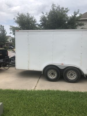 12'x7' Enclosed trailer for Sale in Manor, TX