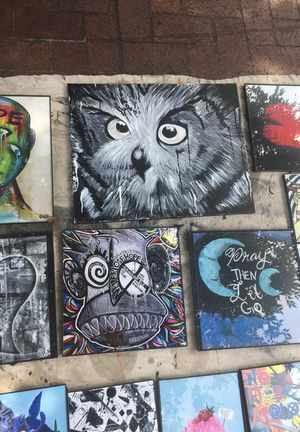Hand painted owl for Sale in Philadelphia, PA