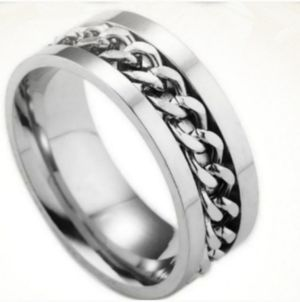 NWT Stainless Steel Ring Sz 10 for Sale in Wichita, KS