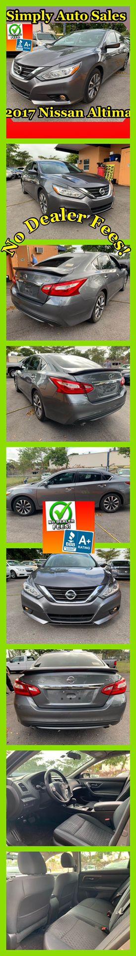 2017 Nissan Altima for Sale in Palm Beach Gardens, FL
