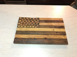 Rustic American flag for Sale in Wenatchee, WA