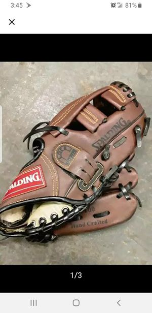 Spalding hand crafted 100 baseball glove for Sale in East Orange, NJ