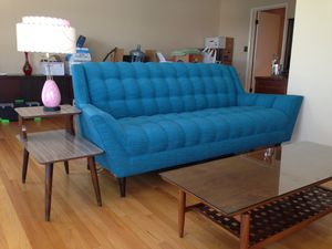 New Discontinued Thrive Modern/Mid-century Couch and Chair for Sale in Pasadena, CA