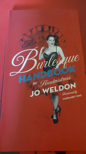 Burlesque Handbook By Jo Weldon for Sale in Chino Hills, CA