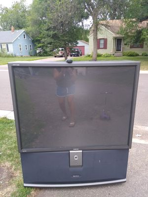 Free 48 inch rear projection tv for Sale in Brooklyn Center, MN