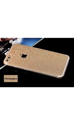 Glitter full body skin decal bling sticker protector for iphone X for Sale in Lake Ridge, VA