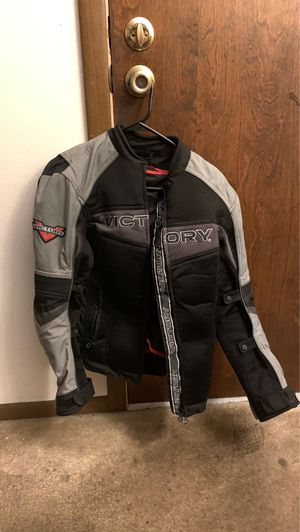 Victory woman's motorcycle jacket for Sale in St. Peters, MO